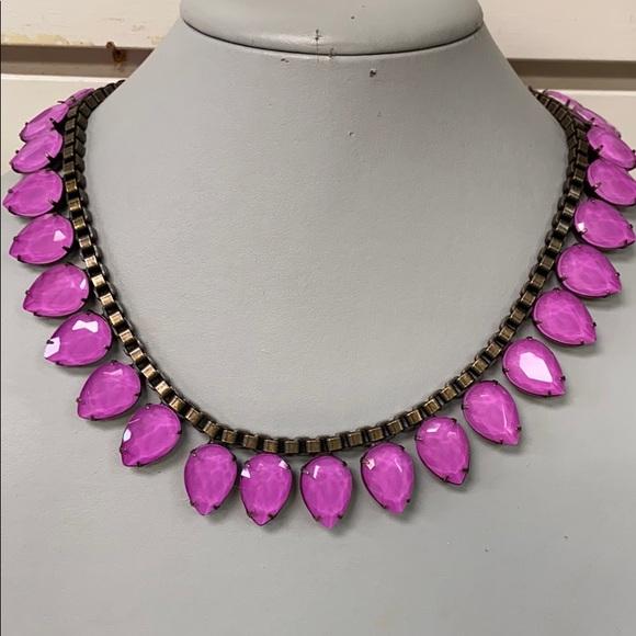 Pink Sylvia Loren Hope Necklace